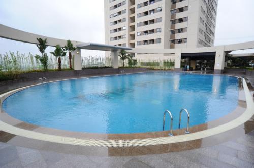 Bể bơi chung cư - Hải Phát The Pride