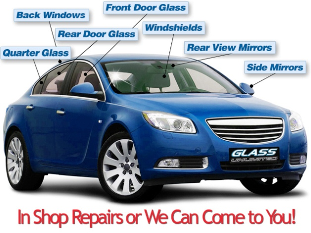 GLASS Replacement Car WINDOW