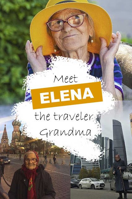 Elena, the Russian Grandma who travels around the world