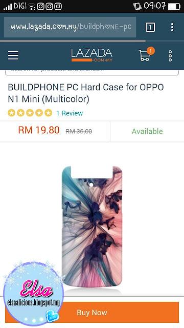 Casing Oppo N1 Mini Daripada Lazada.com.my