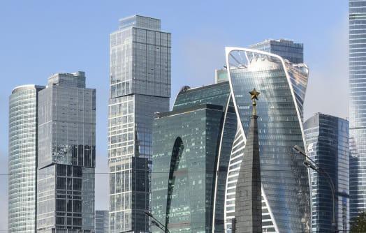 Tòa nhà chọc trời tại Moscow Nga
