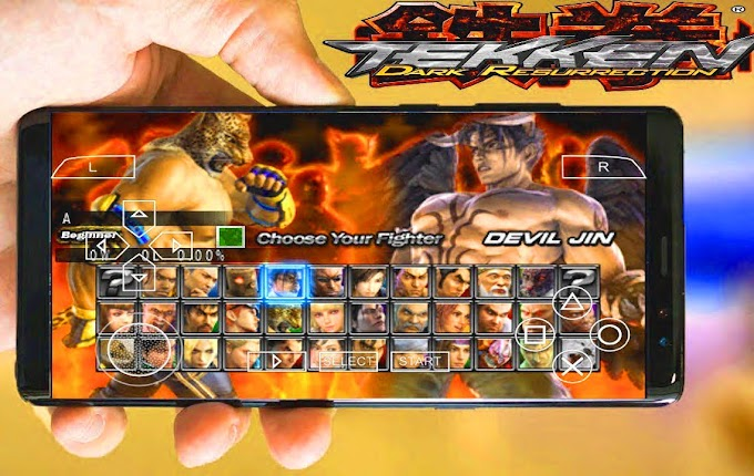 Tekken 5 APK Free Download for Android | Tekken 5 ISO Full Version Free Download For Android