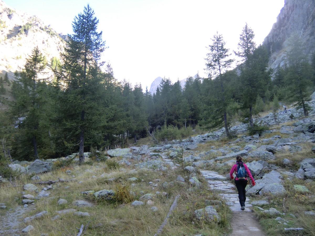 Easy initial ascent along GR52 from Boréon