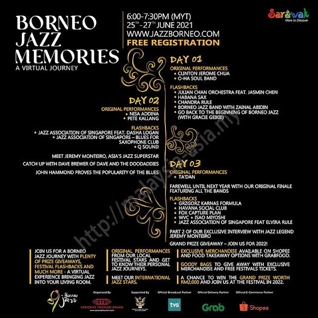 Program Borneo Jazz 2021
