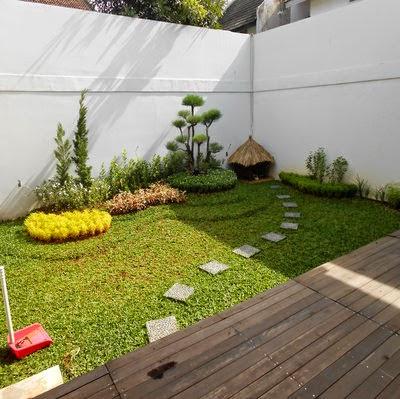 design taman kecil depan rumah ~ tukang taman serpong tlp