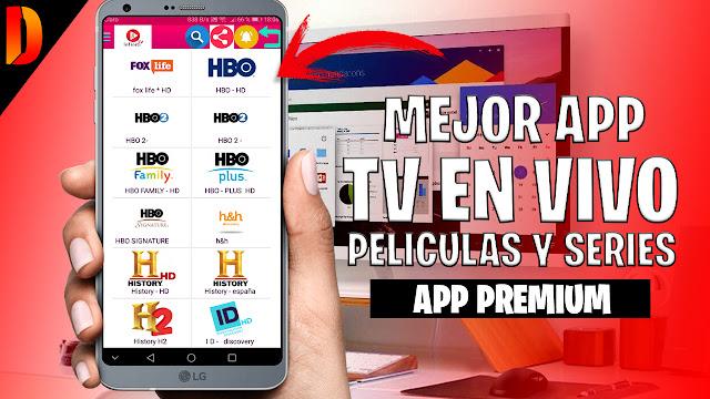 📺Infiniti TV (Tv, Peliculas y Series) 2019 - DanielGalaxy