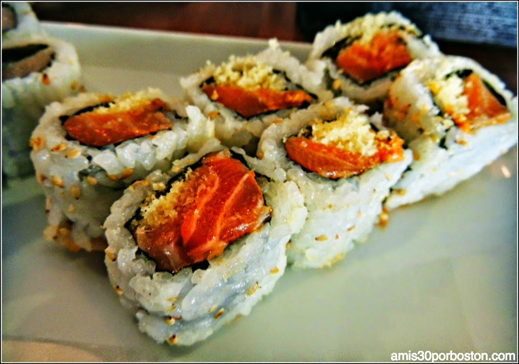 Menú Dine Out Boston Haru: Crunchy Spicy Salmon