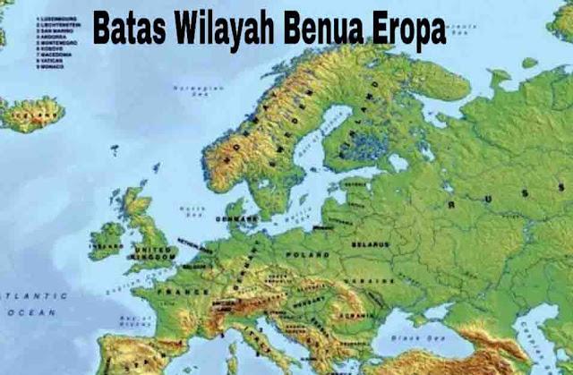 Batas Wilayah Eropa