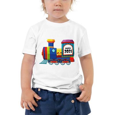 Happy Patricks Day Shirts | Shamrock Train Saint Patty's Day Shirt | Irish Shirt | Kids St Patrick's Shirt | Personalized Shirt | Green Day