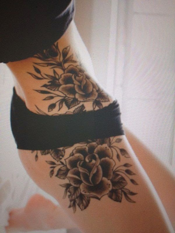21 Sexy Hip Tattoos For Women
