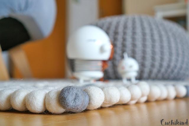 billiger filzkugelteppich