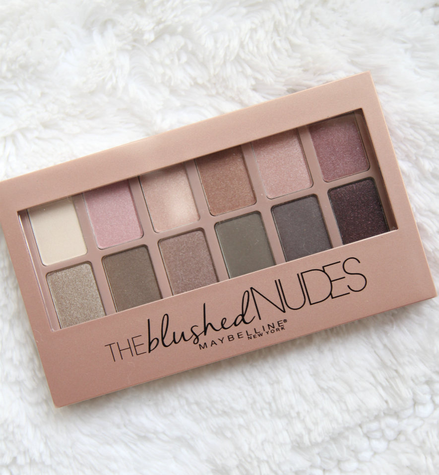 Maybelline The Blushed Nudes Palette Review and Swatches