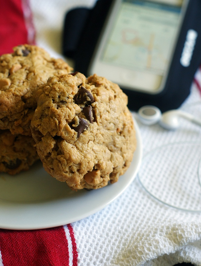Whole-Wheat, Whole-Grain Morning Monster Cookies