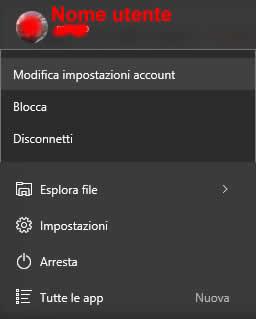Come cambiare la password di Windows 10