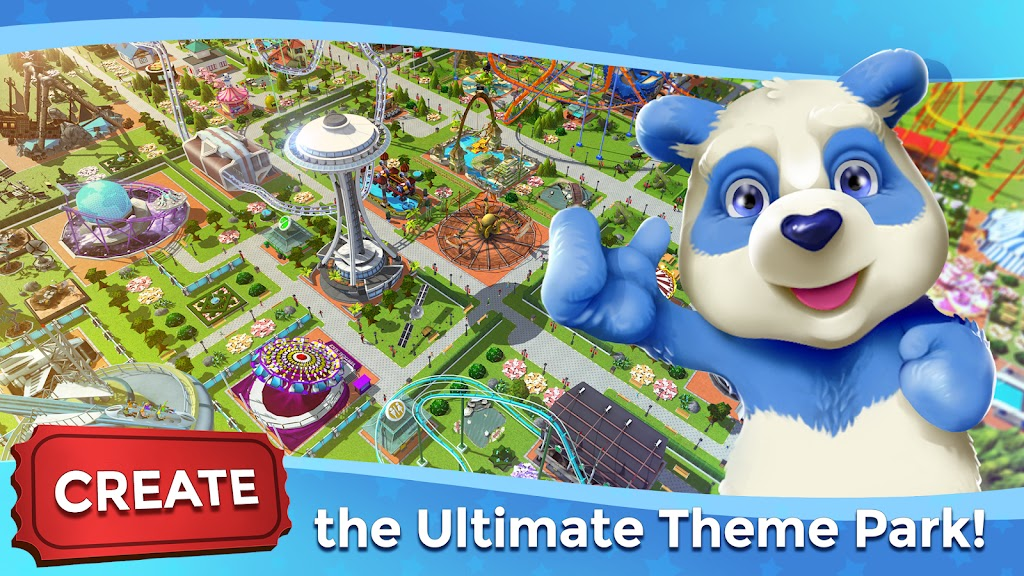 RollerCoaster Tycoon Touch MOD APK 3 0 2 Unlimited Money