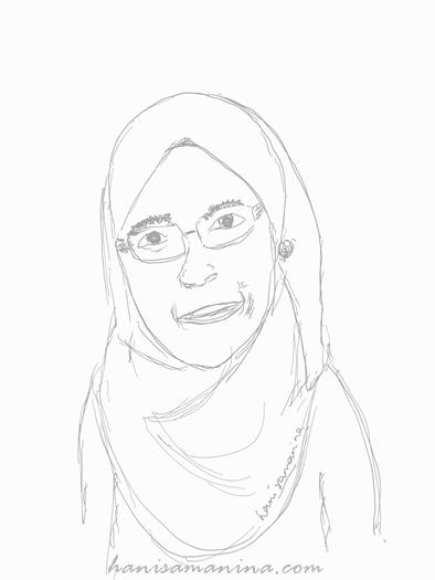 nina's self portrait
