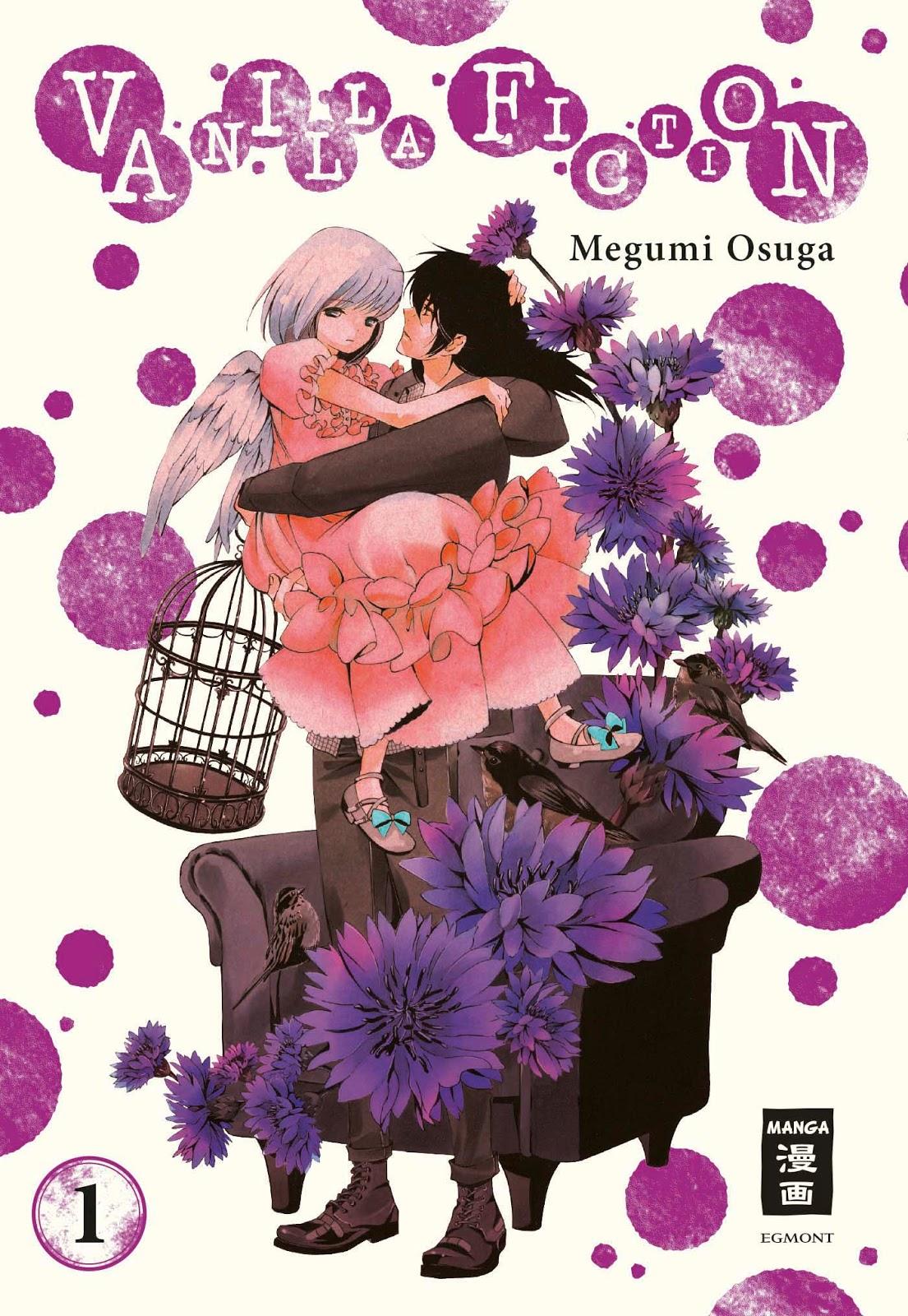 Awkward Dangos: [Manga Review] Vanilla Fiction 01-03