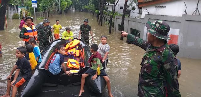 Ini Data Lengkap Titik Banjir di Jabodetabek