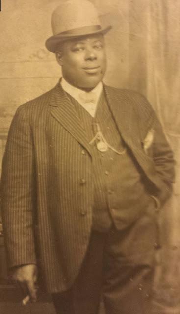"This is Omaha crime figure William ""Billy"" Crutchfield around 1910."