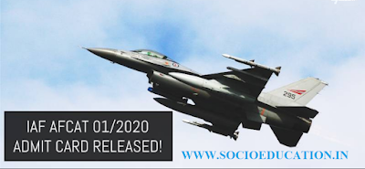 Indian Air Force has published Admit Card for Airforce Common Admission Online Test (AFCAT January 2021), Check below for more details.