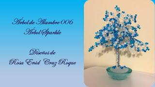 Arbol de Alambre 006 - Sparkle Tree