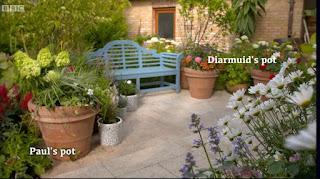 Diarmuid and Paul pot