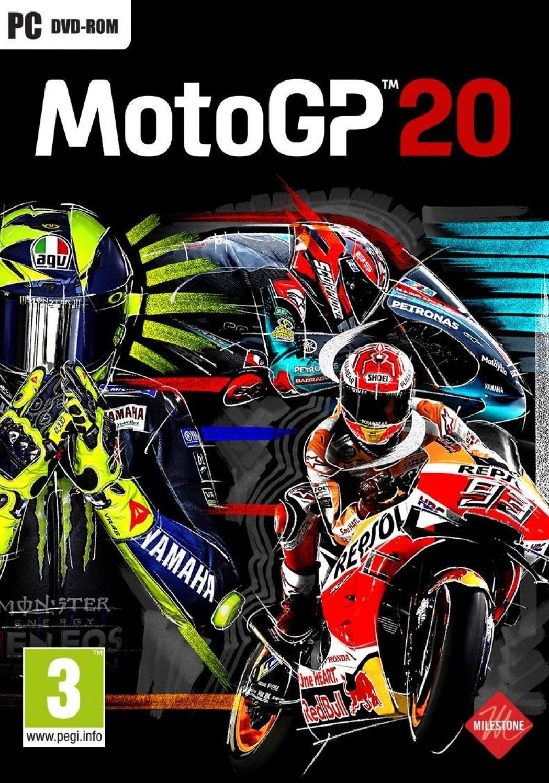 Descargar MotoGP 20 PC Cover Caratula
