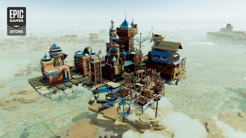 Airborne Kingdom available on Steam for PC