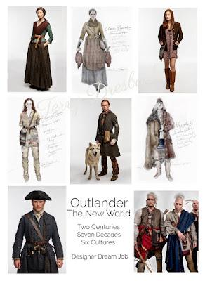 Algunas imágenes del vestuario de la cuarta temporada de Outlander en el Nuevo Mundo