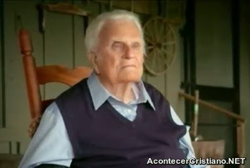 Billy Graham delicado de salud