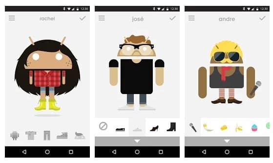 Menjadi Kartun Avatar di Android