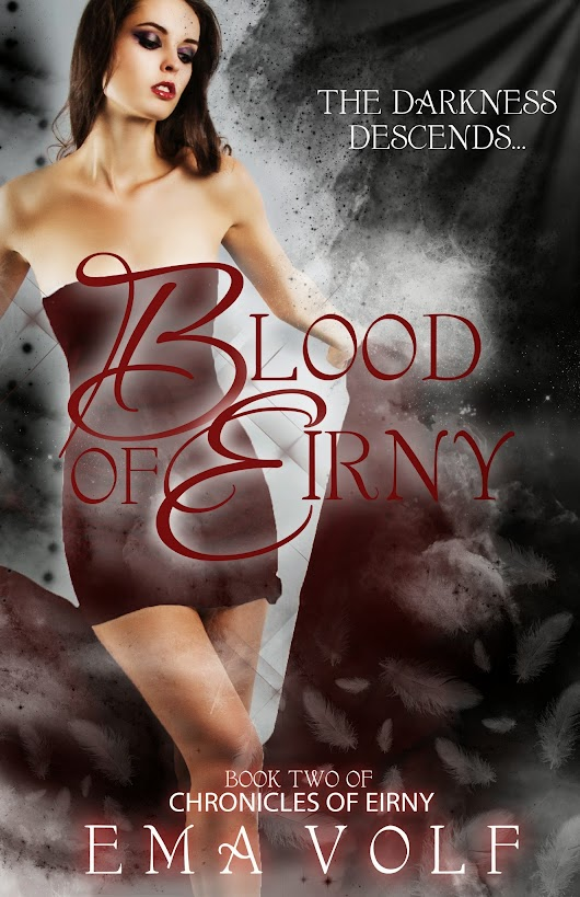 Cover Reveal! Blood of Eirny's new makeover!