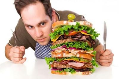 Không để bụng đói là cách tăng cân nhanh cho nam giới