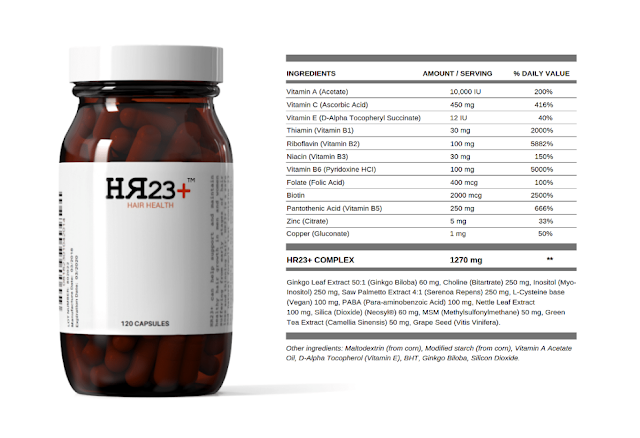 hair supplement HR23+