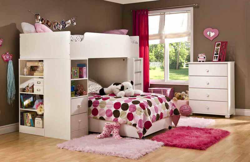 55 desain kamar tidur anak perempuan unik minimalis sederhana desainrumahnya com