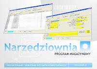 Narzędziownia - program magazynowy
