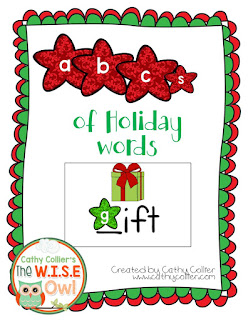 December Ready-made centers. Day 3: Holiday Vocabulary Cards