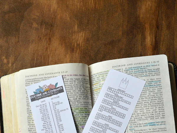 Come Follow Me Doctrine and Covenants Double Sided Bookmarks