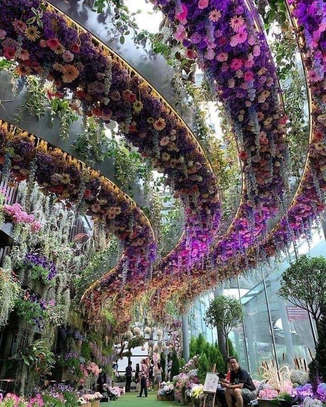 Hanging Gardens in Singapore