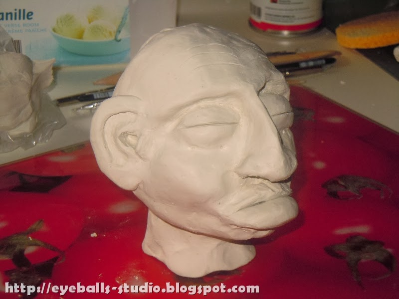 Creating a shrunken head, part 1 ~ Eyeballs Studio
