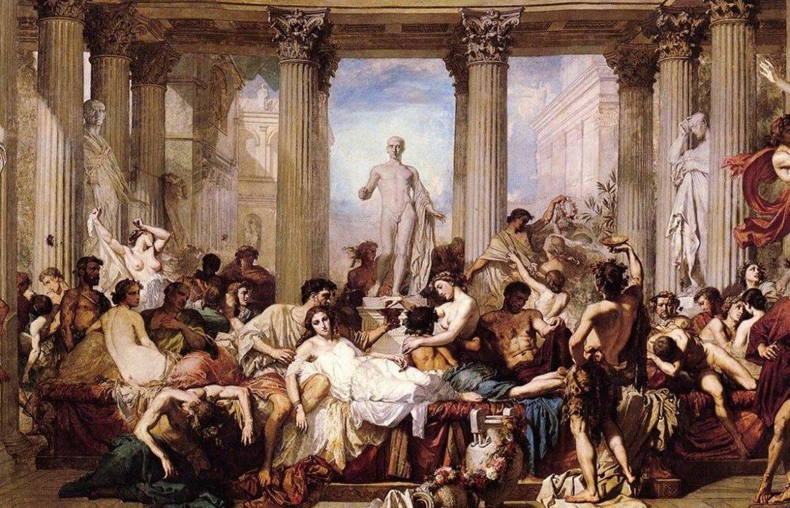 Калигула занимался сексом с сестрой