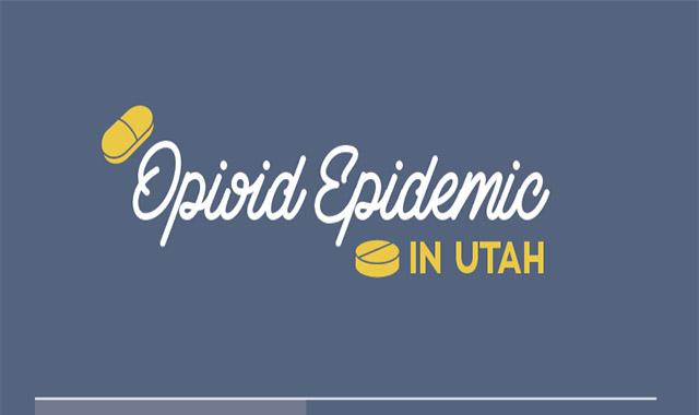 Opioid Epidemic in Utah  #Infographic
