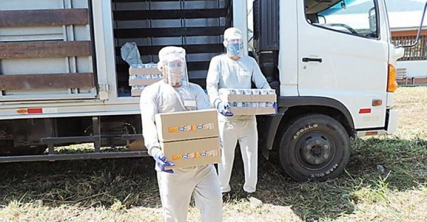 QALI WARMA: Programa social distribuye más de 420 toneladas de alimentos en el Vraem - www.qaliwarma.gob.pe
