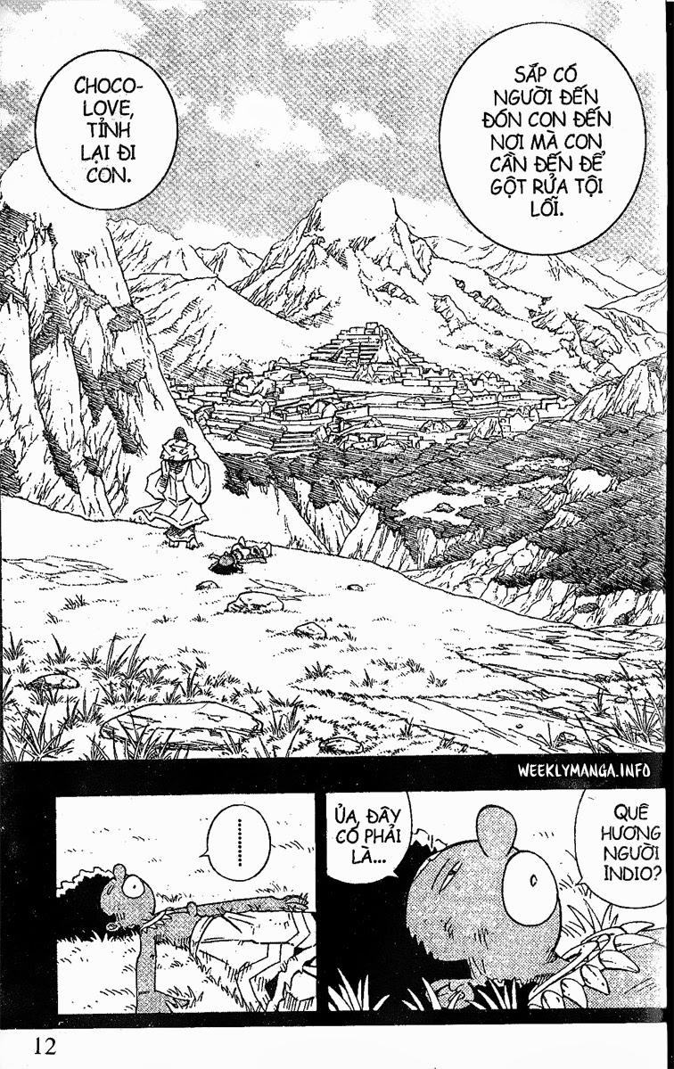Shaman King [Vua pháp thuật] chap 204 trang 16