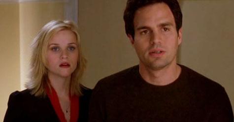 Elizabeth Masterson (Reese Witherspoon) y David Abbott (Mark Ruffalo) en Ojalá fuera cierto - Cine de Escritor