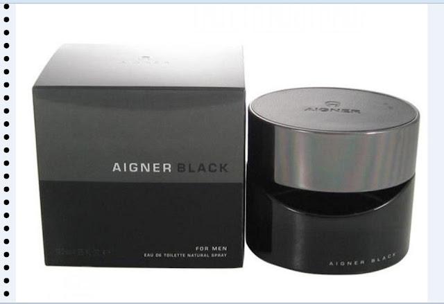 Parfum pria terlaris Aigner Black Man