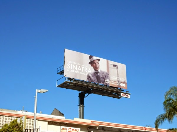 Sinatra All or Nothing at All HBO billboard