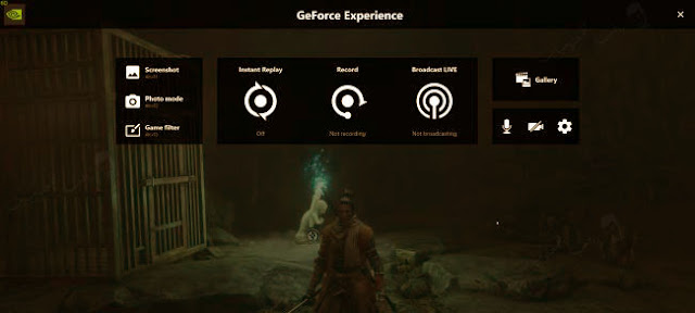 عمل بث مباشر باستعمال برنامج geforce experience