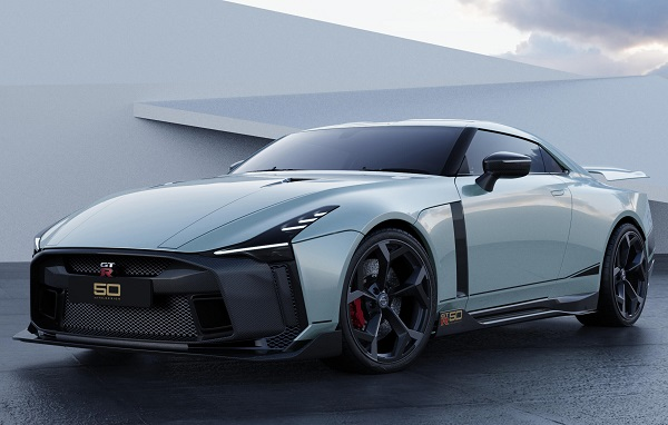 Ficha Técnica Nissan GT-R 50 by Italdesign (2018)