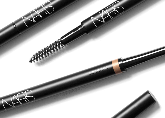 NARS Brow Perfectors Micro Slim Retractable Pencil Fall 2018 Review Spoolie Bruch